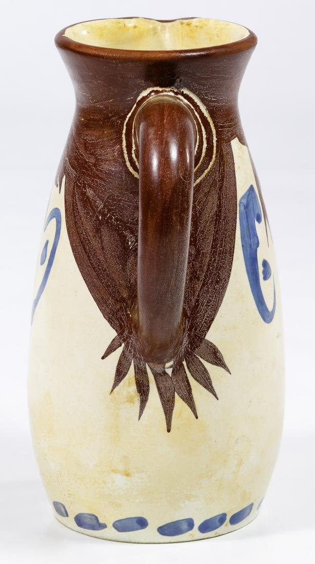 Pablo Picasso (Spanish, 1881-1973) Ceramic Tankard - 4