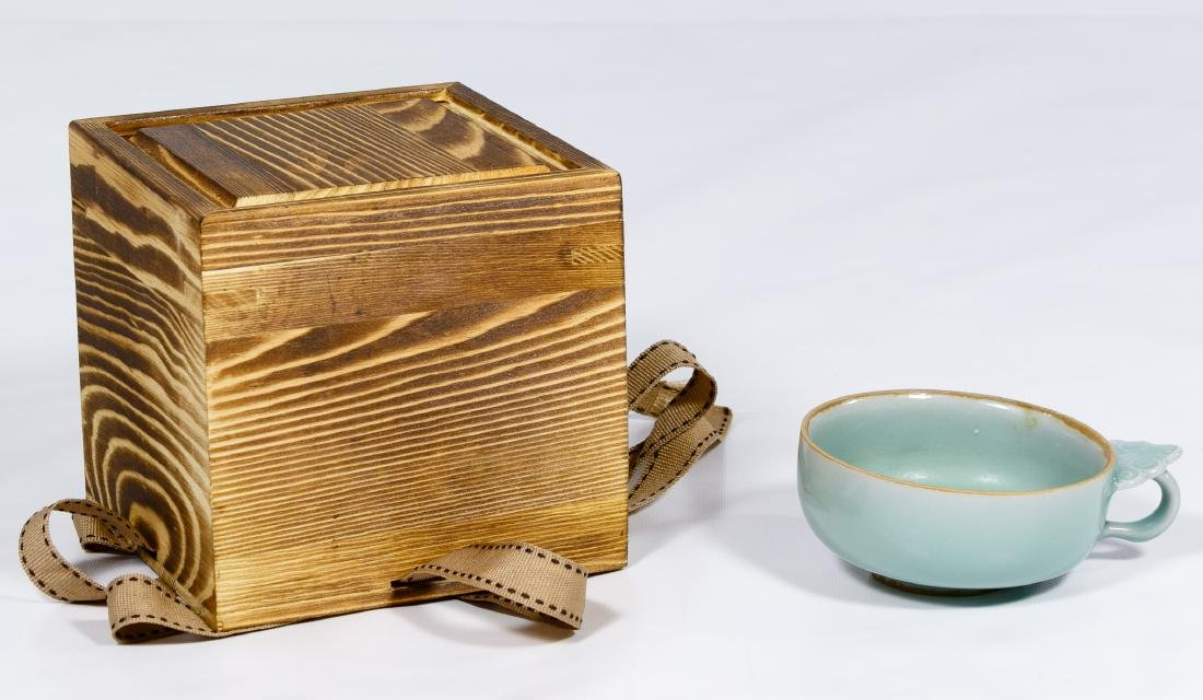 Chinese Celadon Tea Cup for One