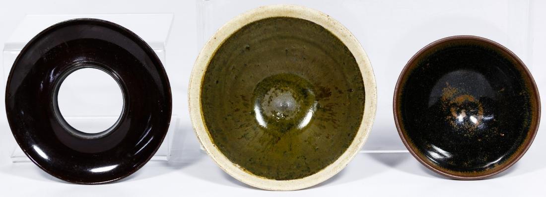 Chinese Pottery Tea Bowl Assortment - 5