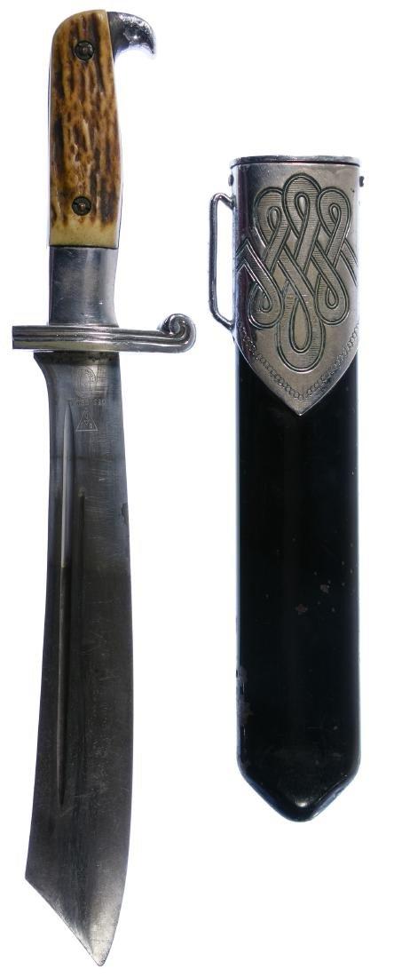 World War II German RAD Enlisted Dagger and Scabbard - 2