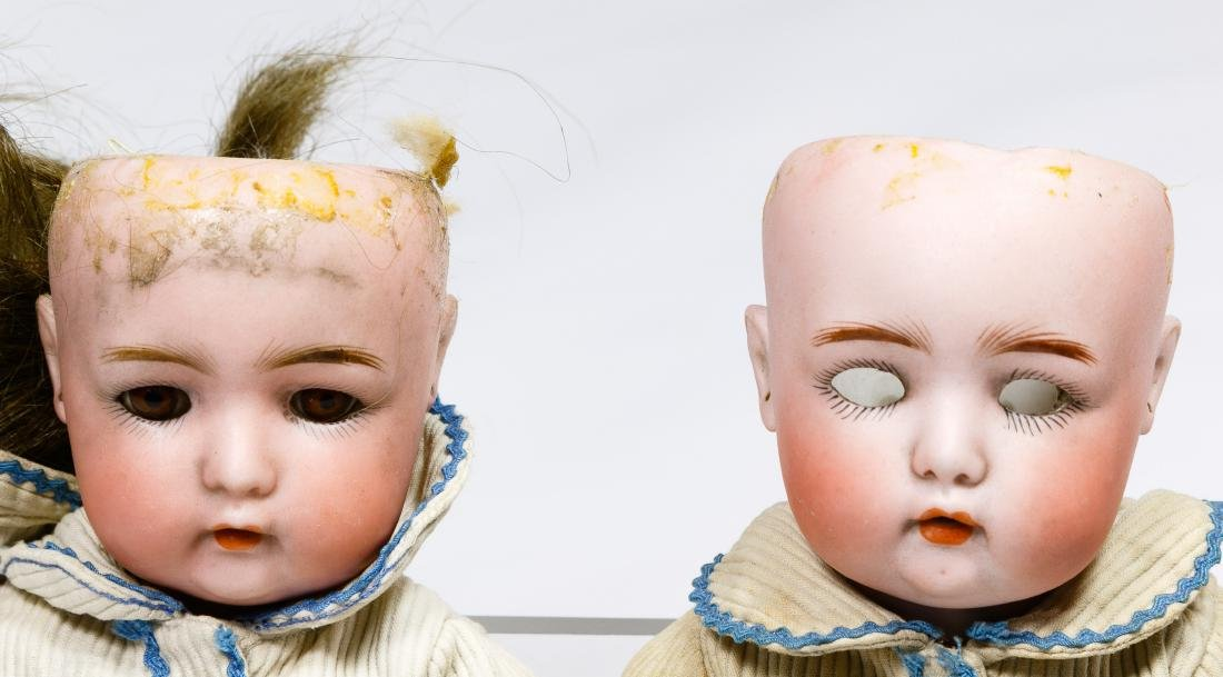 Simon & Halbig Bisque Head #1299 Twin Dolls - 2