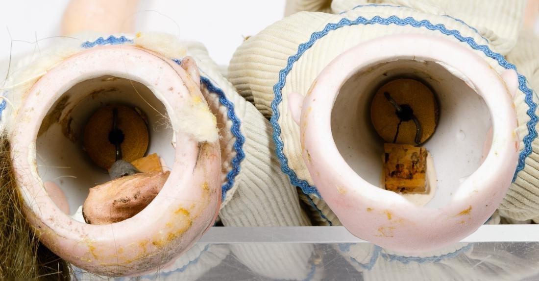 Simon & Halbig Bisque Head #1299 Twin Dolls - 3