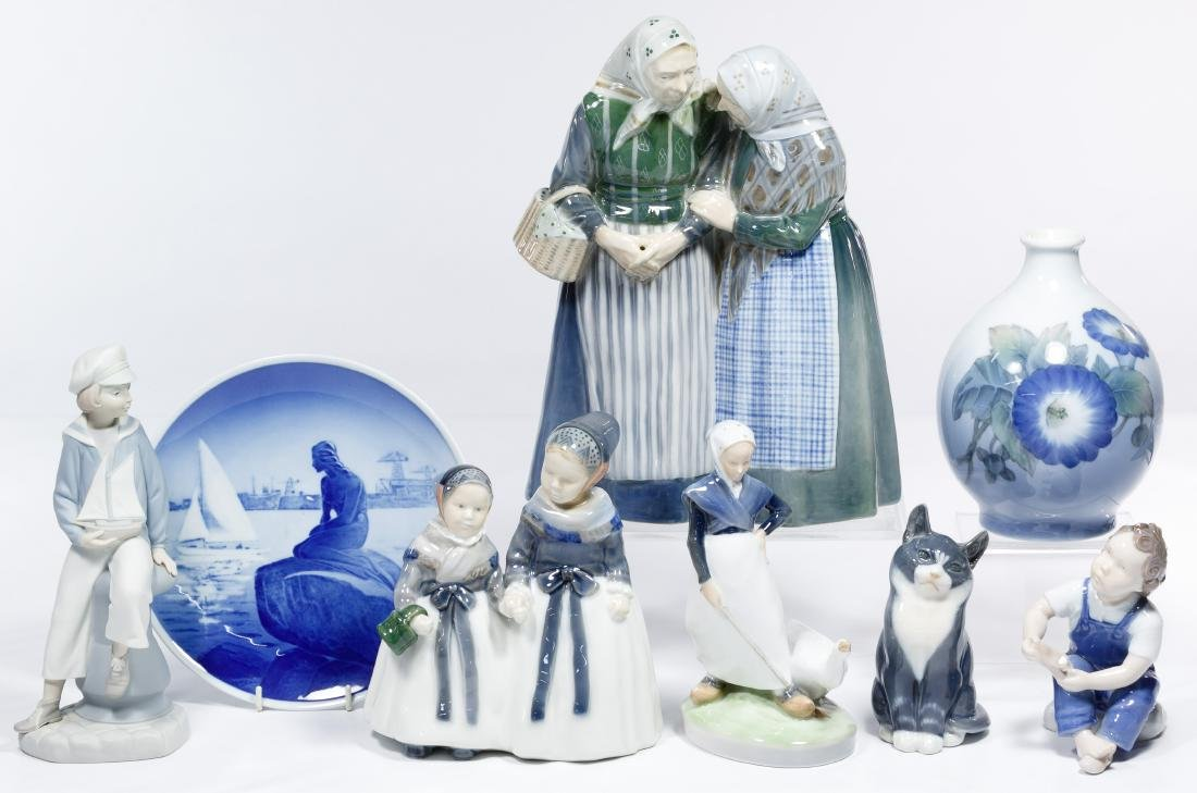 Royal Copenhagen Figurine Assortment