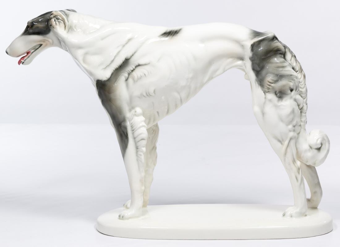 "Wilhelm Thomasch (Austrian, 1893-1964) ""Borzoi"" Figure - 2"