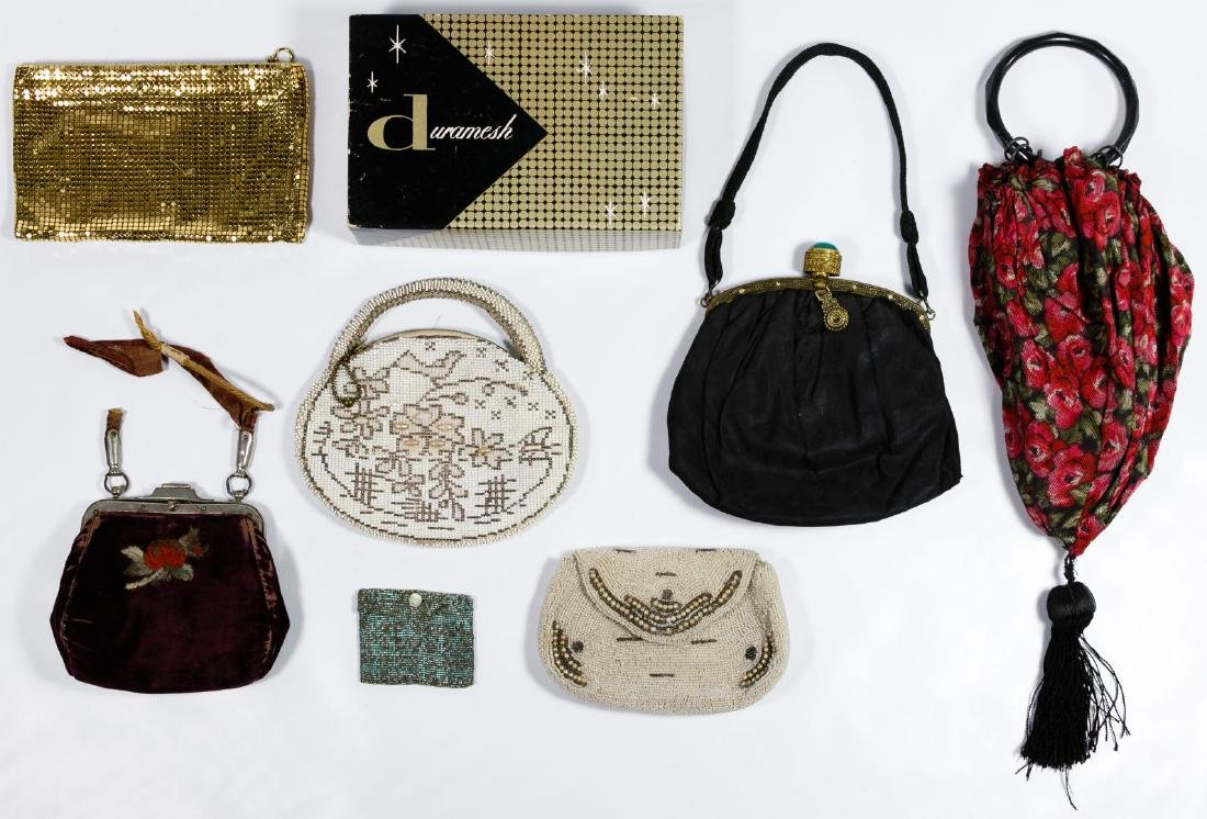 Beaded, Mesh and Fabric Purse Assortment