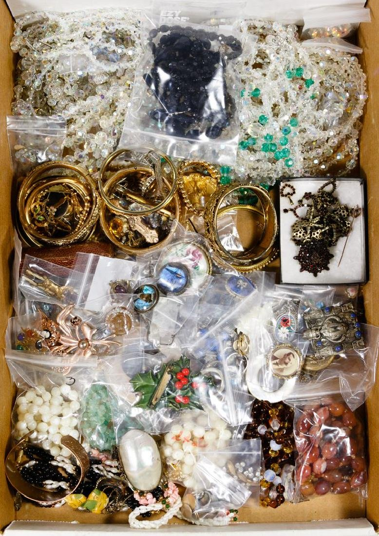Austrian Crystal, Victorian and Costume Jewelry