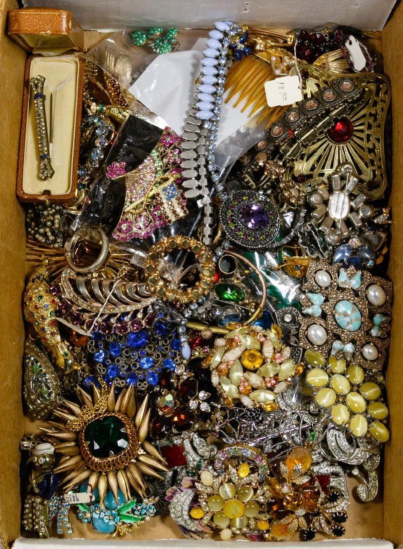 Colored Rhinestone Jewelry Assortment