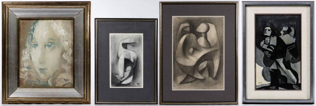 Poletti (American, 20th Century) Artwork Assortment