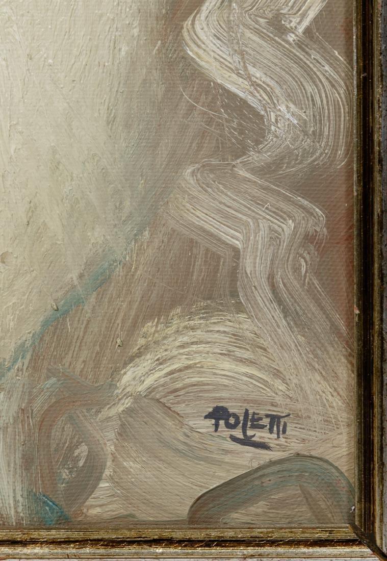 Poletti (American, 20th Century) Artwork Assortment - 4