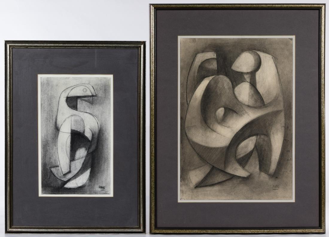 Poletti (American, 20th Century) Artwork Assortment - 6