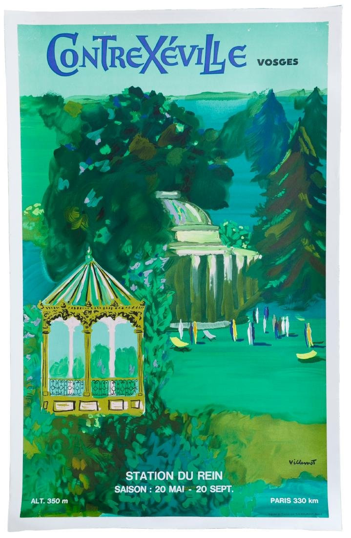 Villemot Poster and Art Book Assortment - 3