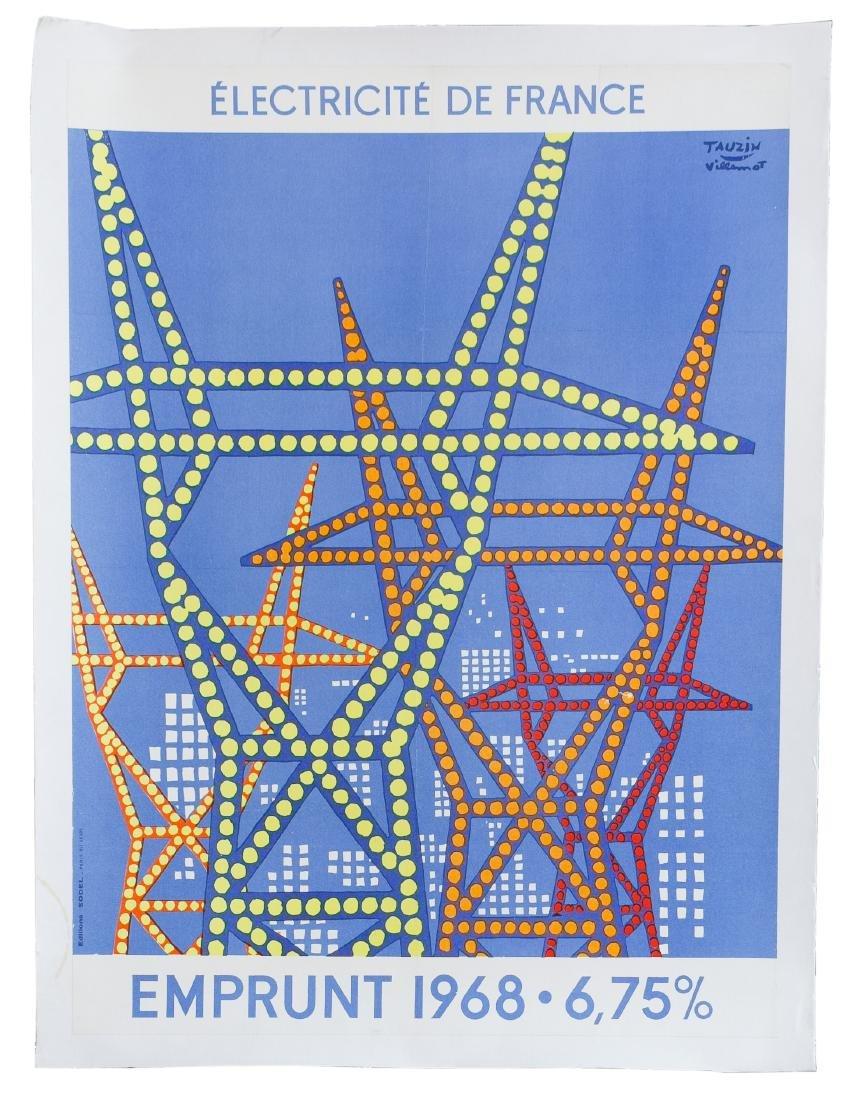 Villemot Poster and Art Book Assortment - 4