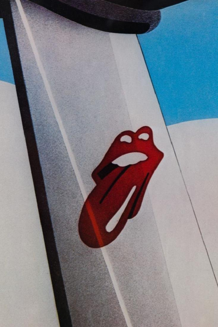 The Rolling Stones 1972 American Tour Poster - 2