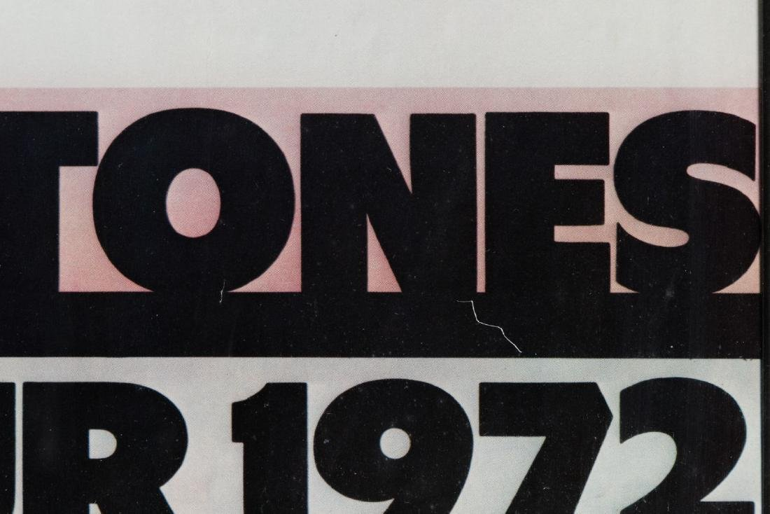 The Rolling Stones 1972 American Tour Poster - 4
