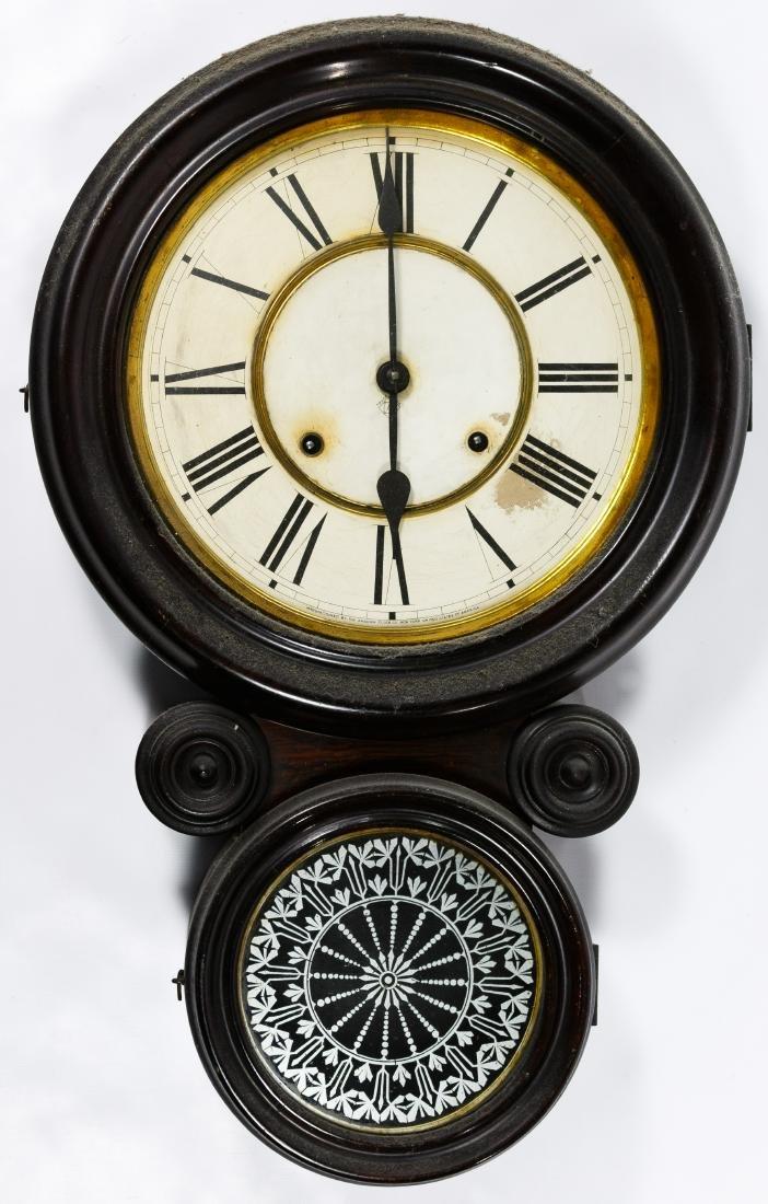 Ansonia Rosewood 'Kobe' Wall Clock