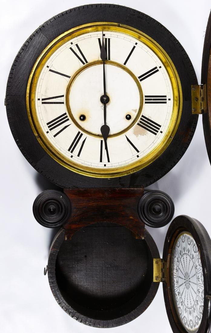 Ansonia Rosewood 'Kobe' Wall Clock - 2