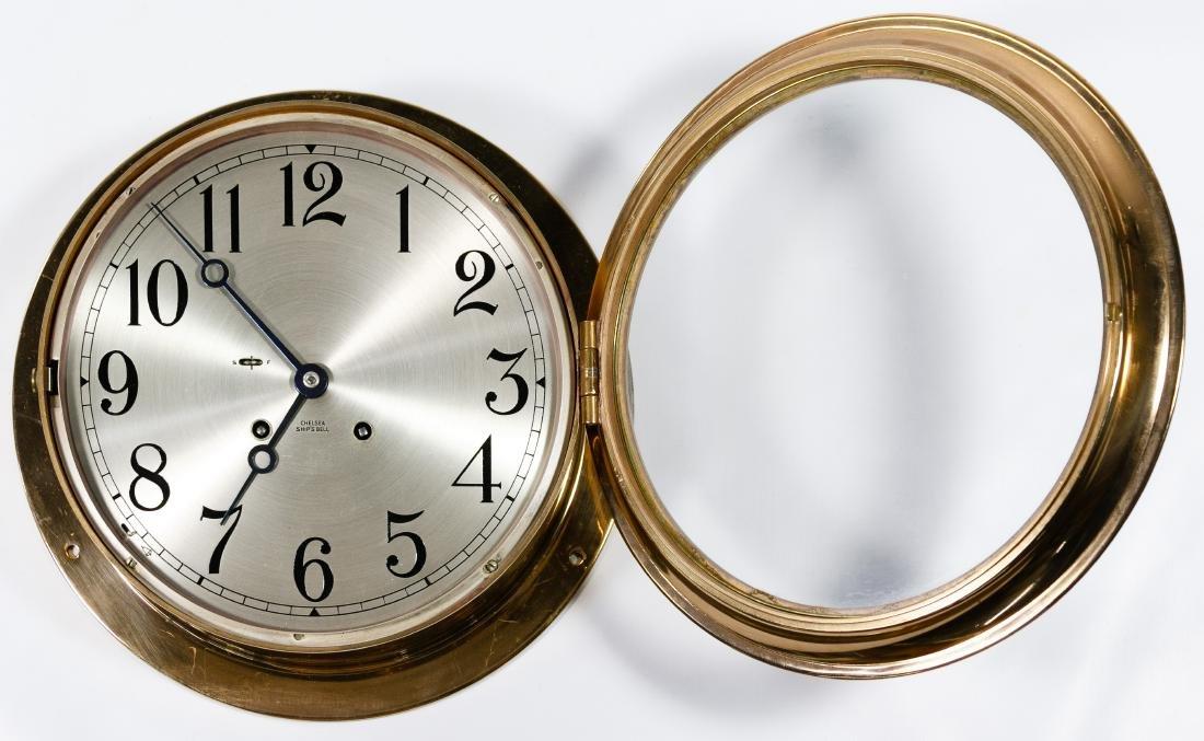 Chelsea 'Ship's Bell' Copper Clock - 2