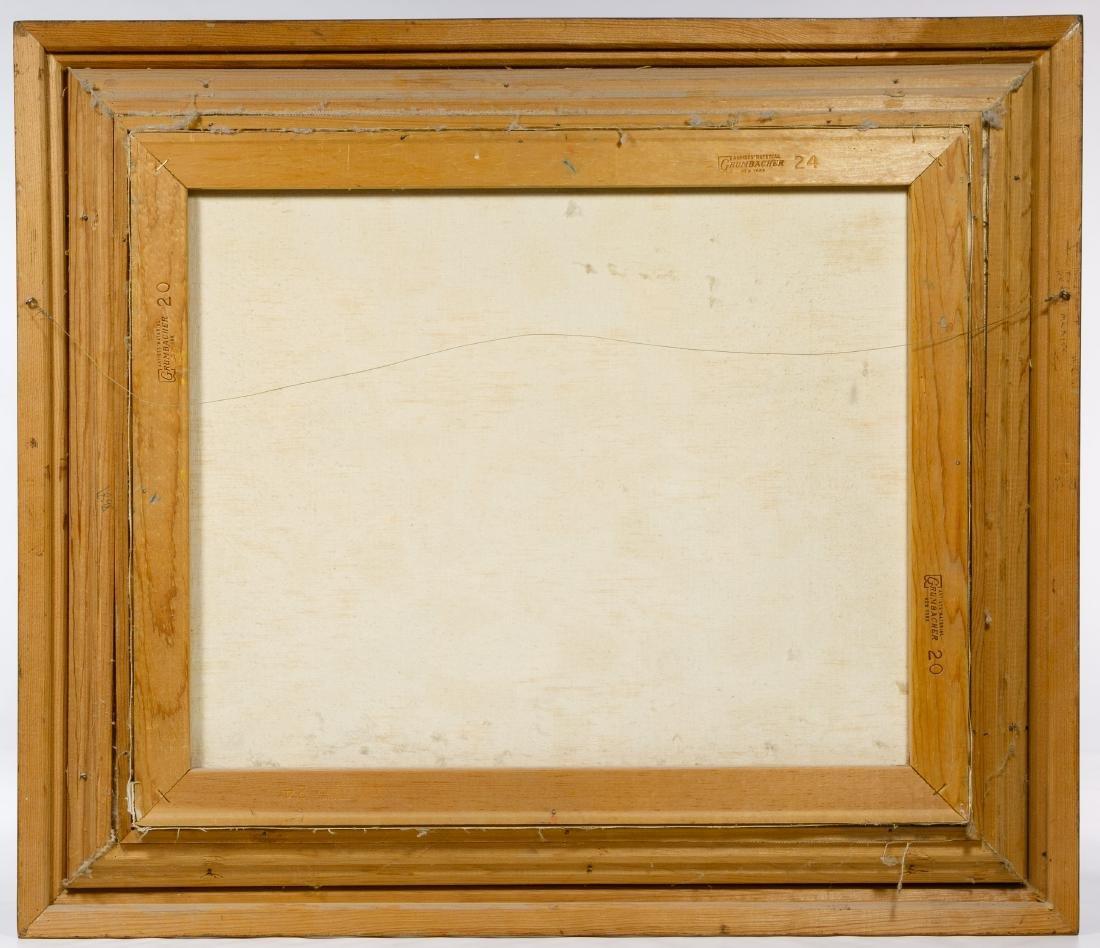 H Y Blaustein (American, 20th Century) Oil on Canvas - 4