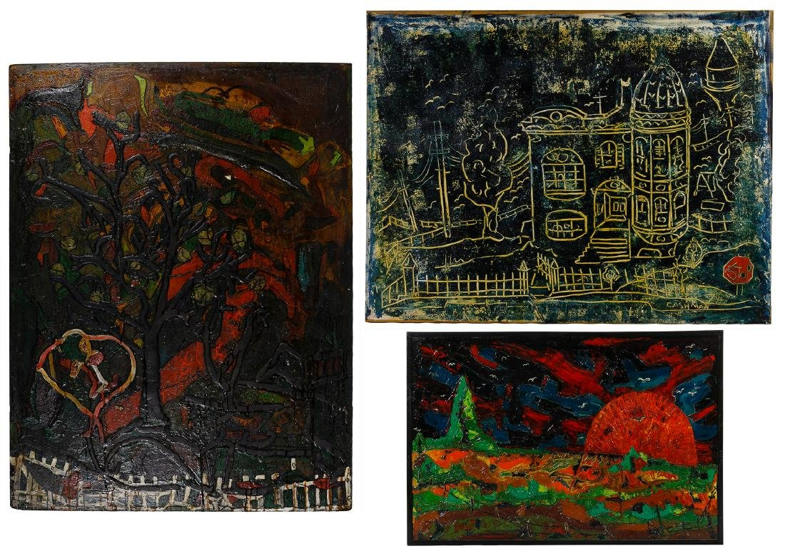 Abstract Painting Assortment