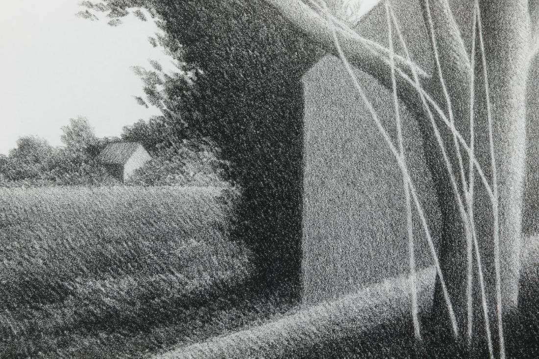 Robert Kipniss (American, b.1931) 'Shack with Tree in - 3