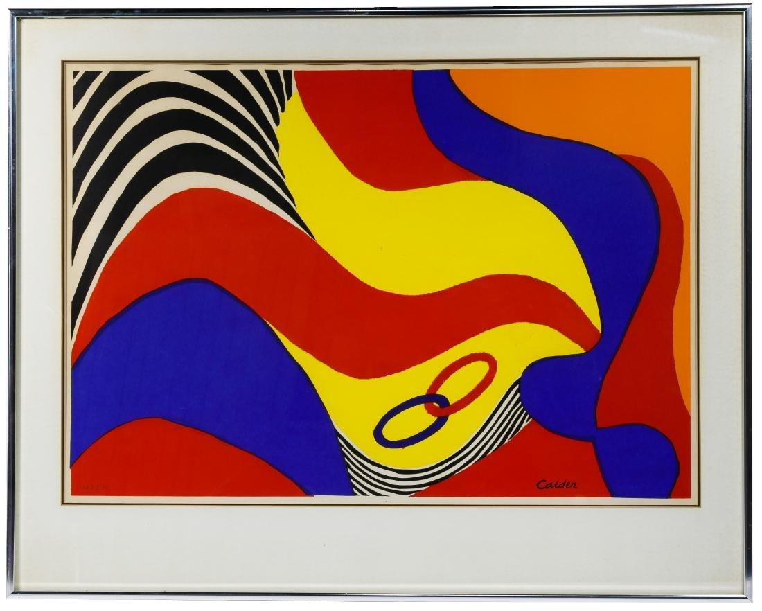 Alexander Calder (American, 1898-1976) 'South America - 2