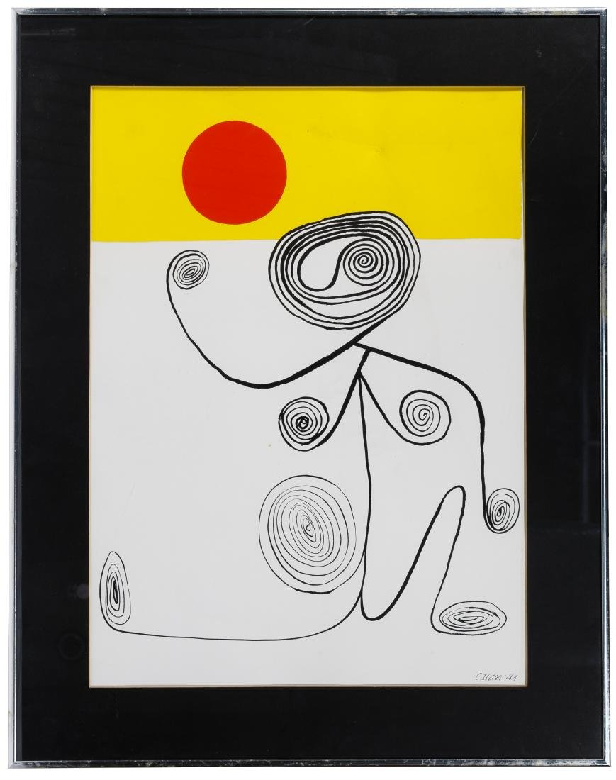 Alexander Calder (American, 1898-1976) 'South America - 3