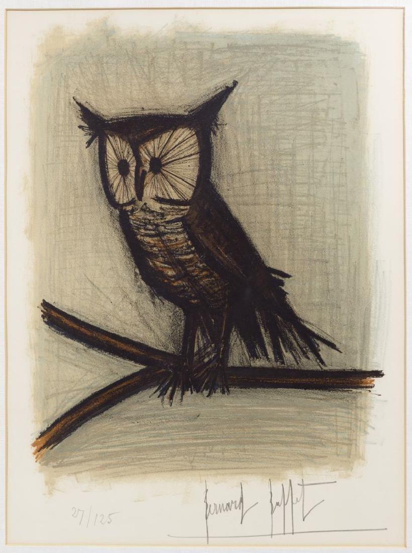 Bernard Buffet (French, 1928-1999) 'Little Owl' - 2