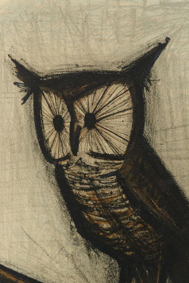 Bernard Buffet (French, 1928-1999) 'Little Owl' - 3