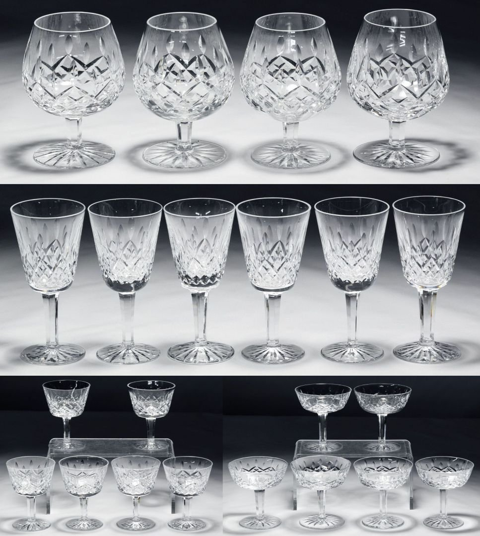 Waterford Crystal 'Lismore' Stemware Collection
