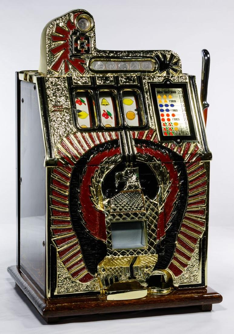 Mills 'War Eagle' 25c Slot Machine