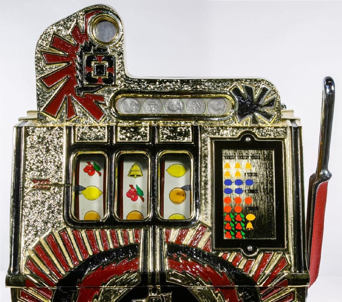 Mills 'War Eagle' 25c Slot Machine - 2