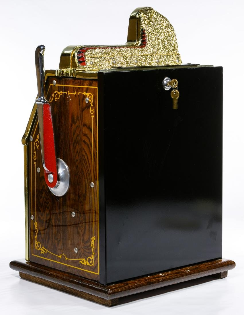 Mills 'War Eagle' 25c Slot Machine - 3
