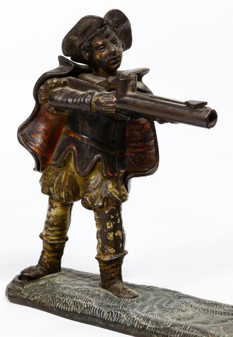William Tell Mechanical Cast Iron Bank - 4