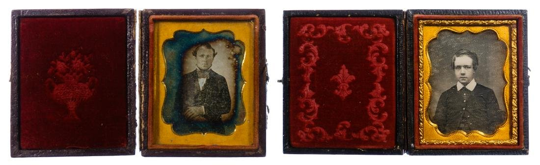 Civil War Era Tin Type Photograph Assortment - 4
