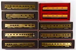 HO Scale Brass Model Train Assortment