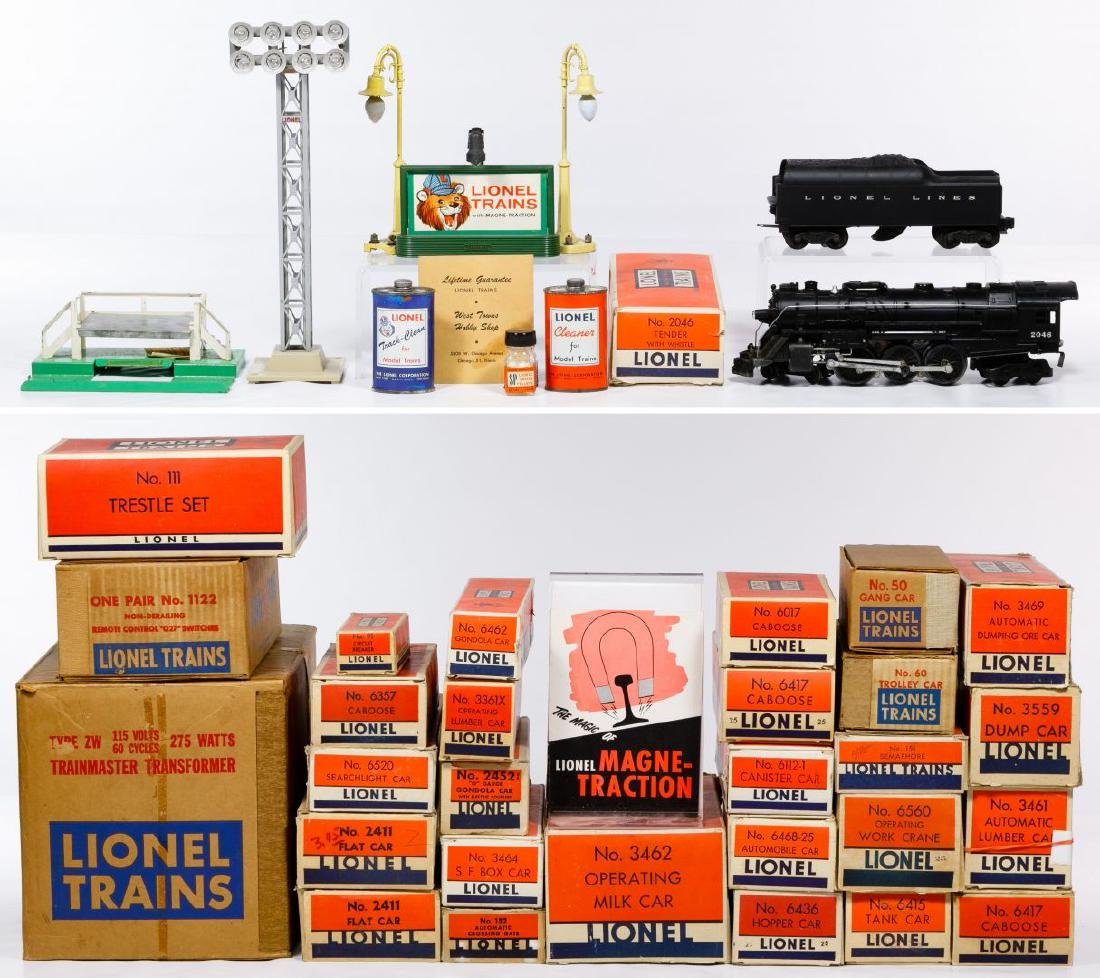 Lionel Model Train and Accessories Assortment