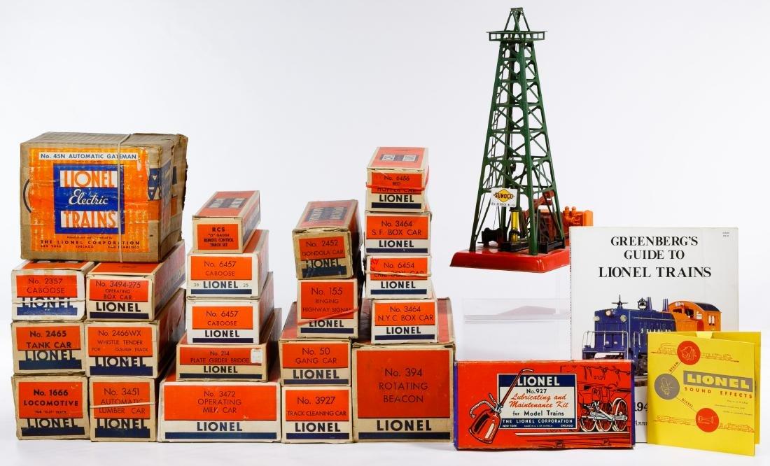 Lionel Model Train Set Assortment