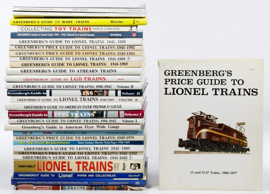 Model Train Reference Book Assortment