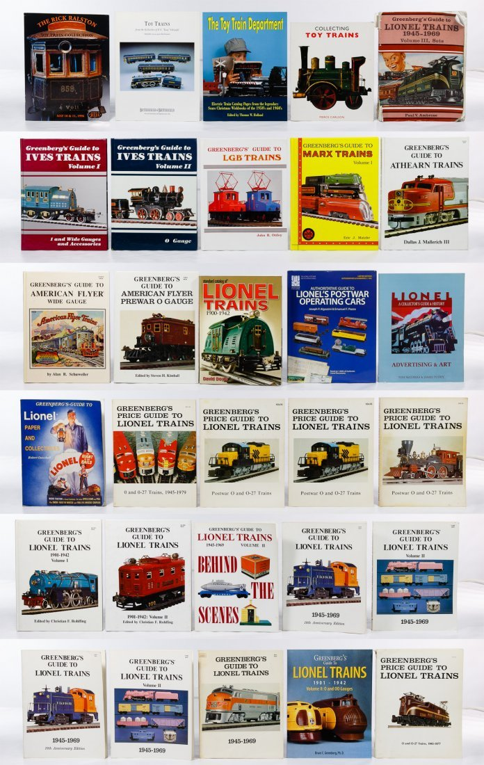 Model Train Reference Book Assortment - 2