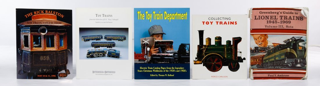 Model Train Reference Book Assortment - 3