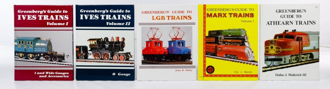 Model Train Reference Book Assortment - 4