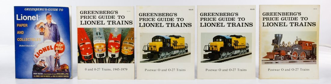 Model Train Reference Book Assortment - 6