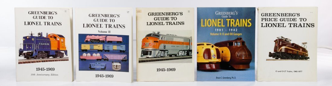 Model Train Reference Book Assortment - 8