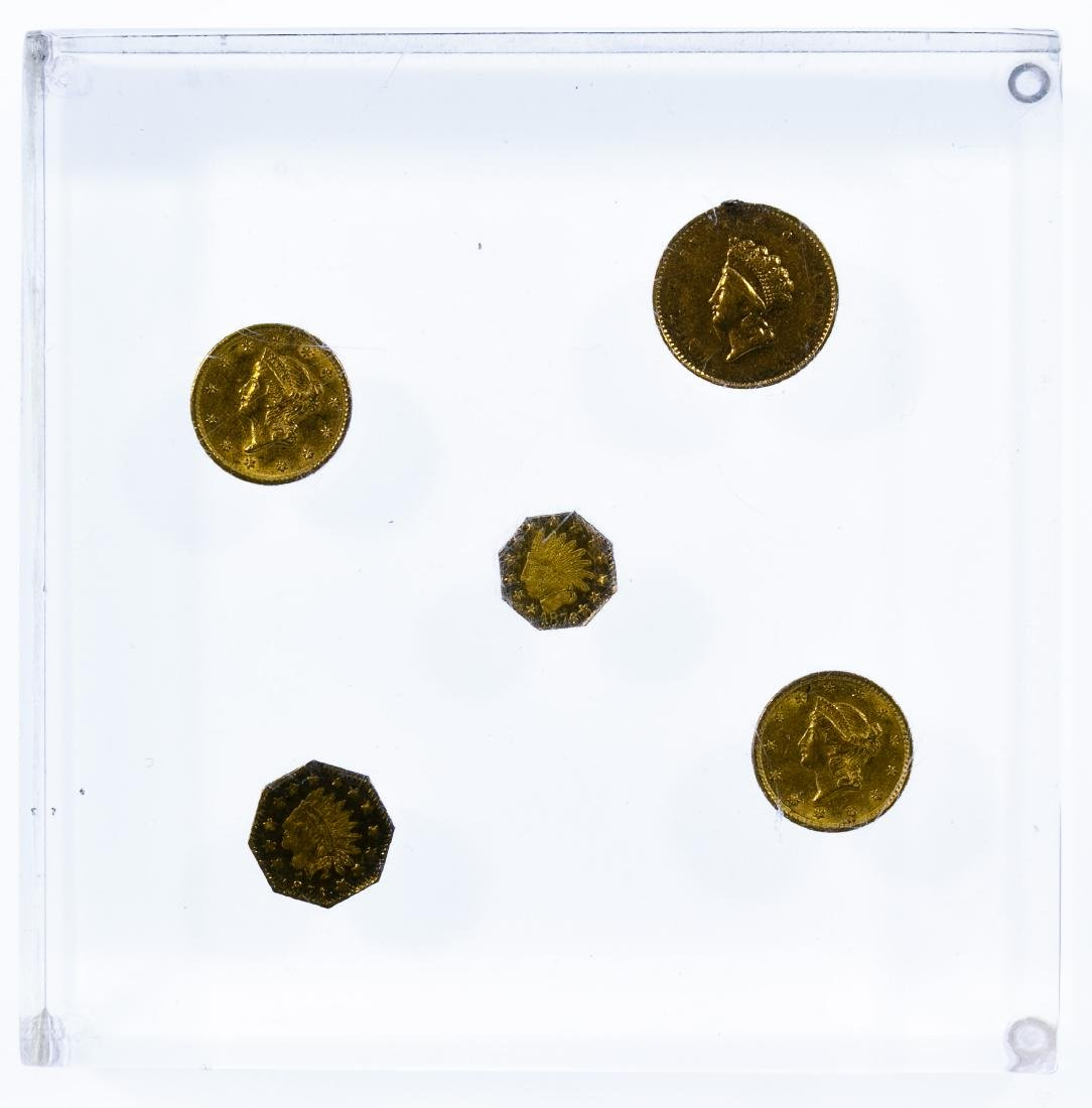 Gold Coin Paperweight
