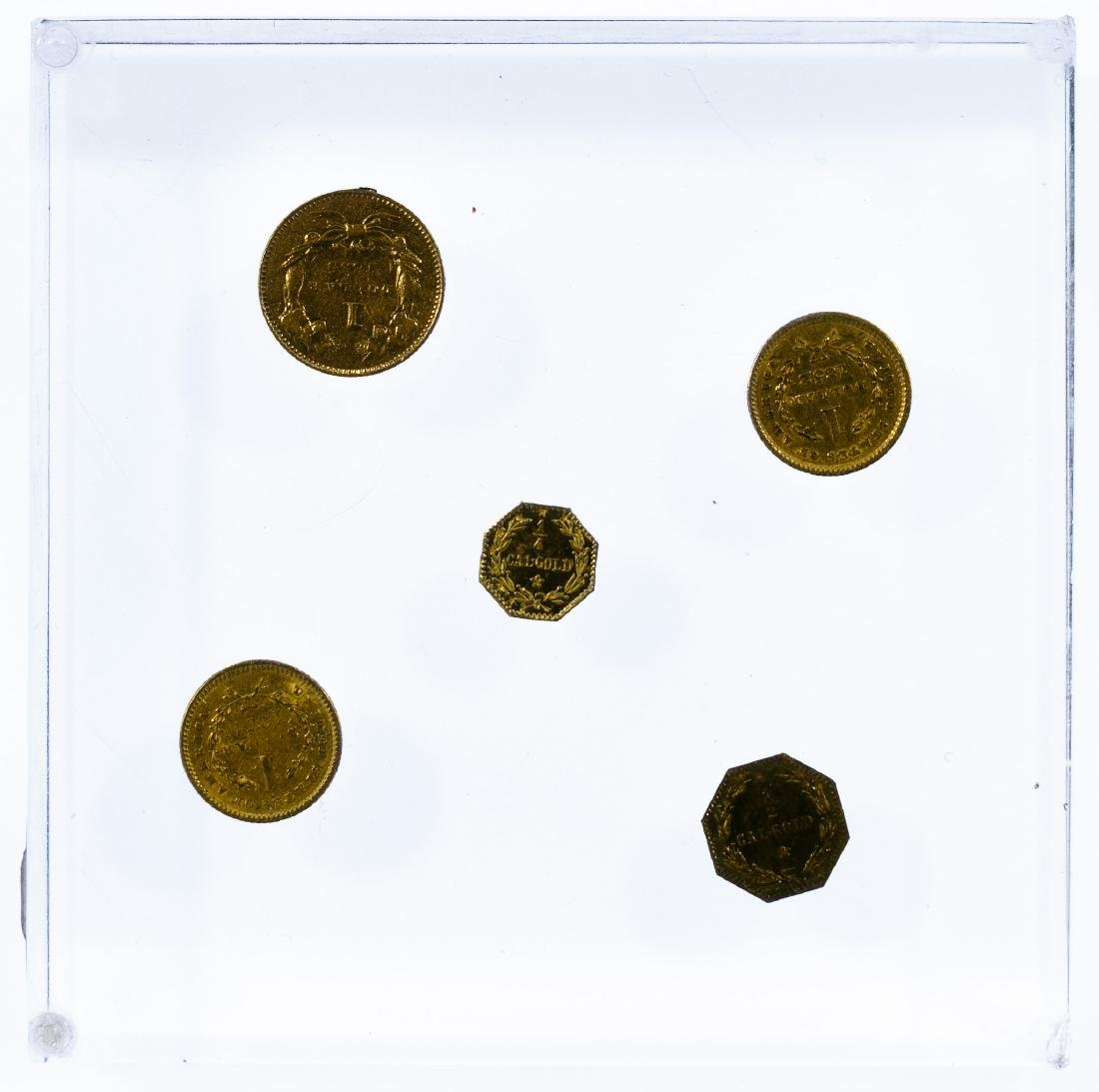 Gold Coin Paperweight - 2