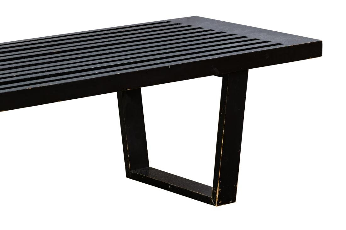 (Style of) George Nelson Slat Bench - 2