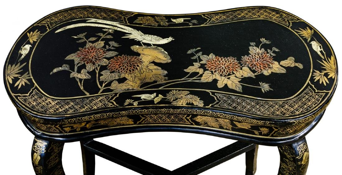 Asian Side Tables - 3