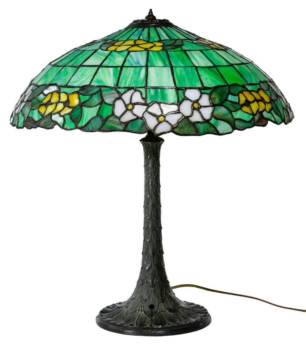 Leaded Glass Table Lamp - 2