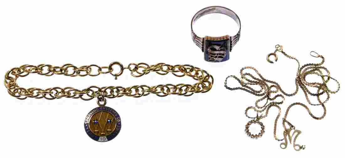 14k Gold and 10k Gold Jewelry Assortment