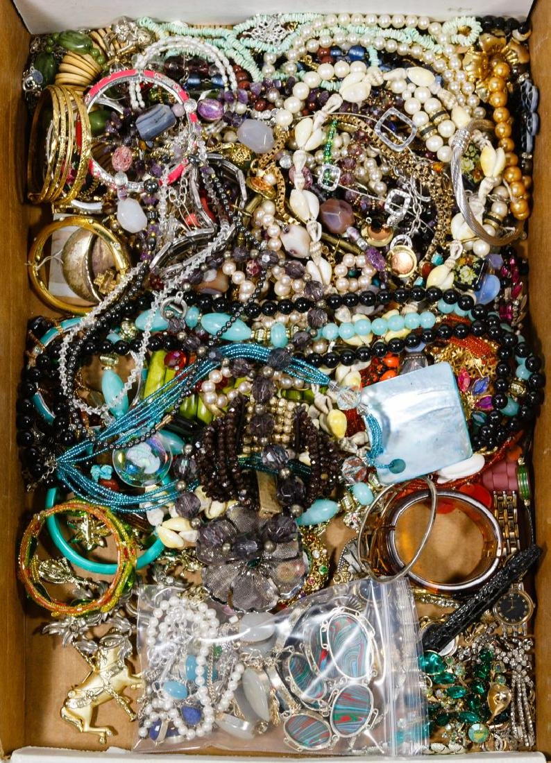 Sterling Silver and Costume Jewelry Assortment